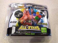 NEW SEALED MadCatz WWE All Stars BrawlPad USB Xbox 360 and PC  Hulk Hogan Cena