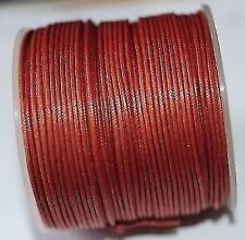Rote Baumwolle & Bänder zur Schmuckherstellung Drähte, Fäden