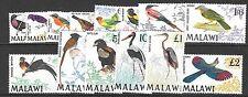 MALAWI SG310/23 1968 BIRDS   MNH