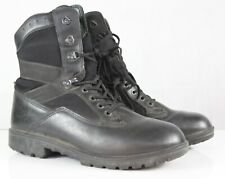 More details for genuine surplus british forces yds black boots leather fabric grade 1