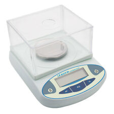 LCD Lab Analytical Balance Digital Scale 300 x 0.001g 1mg Experiment Technical