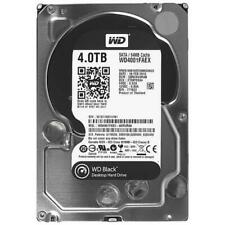 "Western Digital Black 4TB 7200RPM 3.5"" 64MB WD4001FAEX Desktop Hard Drive HDD"