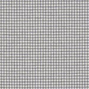 Ralph Lauren Wool Uphol Fabric - Ellwood Houndstooth Grey Flannel 1 yd LCF65795F