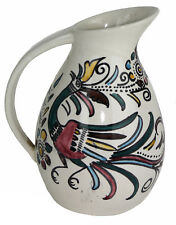 Taxco Viejo Mexico 1950's Modernist Fantasia Pitcher in Style of Felix Tissot