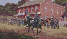 Mort Kunstler Distant Thunder Limited Edition Civil War Print S/N Confederate