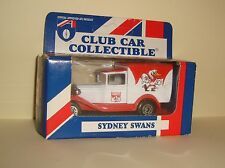 MINT SEALED 1995 MIB VINTAGE AFL Matchbox Sydney Swans Club Car Collectibles
