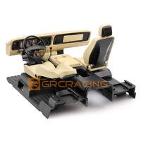 Full Interior Body Shell Cab Seat Kit for 1/10 RC Crawler Traxxas TRX-4 Bronco
