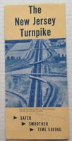 Vintage Travel Brochure New Jersey Turnpike Booklet and Toll Charge Chart