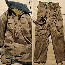 Russian Army Winter suit AFGHANKA VDV Airborne Sand USSR Officer Type  48/3 size