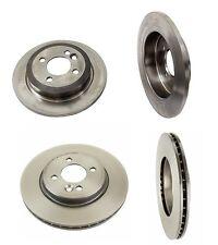 For Mini Cooper R53 Zimmermann/Brembo Complete Front Rear Disc Brake Rotors