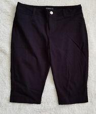 Women's INC black shorts size 10P 94% Cotton 6% Spandex 8046