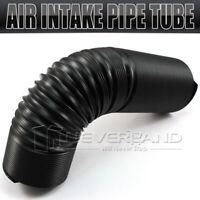 1 Stück Flexibles Luftansaugrohr Cold Air Intake Kalt Luft Schlauch Schwarz