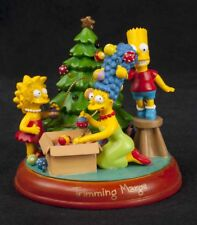 Simpsons Bradford Trimming Marge Christmas lluminated Ornament 2003