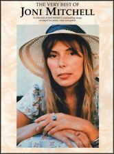 The Very Best of Joni Mitchell Piano Vocal Guitar Sheet Music Book