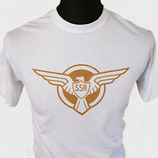 CAPTAIN America SSR logo t shirt super héros marvel dc comics new Cool Rétro
