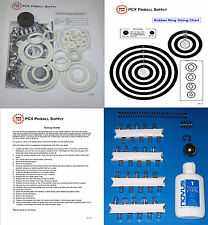 1970 Gottlieb Aquarius Pinball Machine Tune-up Kit - Includes Rubber Rings