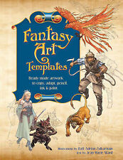 Fantasy Art Templates -  Artwork to Copy, Adapt, Trace, Scan and Paint, New Book