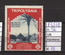 FRANCOBOLLI COLONIE TRIPOLITANIA USATI N°96 (F4578)