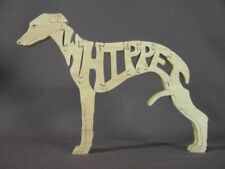 Whippet Dog Amish Made  Wood Scroll Saw Puzzle Toy