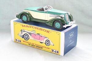 Matchbox Yesteryear Y19-1 Auburn Speedster (1936) - Code 3 (E23)