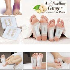 50 Pcs Anti-Inflammation Ginger Foot Patch Organic Herbal Detox Pads Cleansing