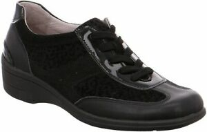NEW Womens Ladies Wide Comfort Sneaker Lace Up Rohde Party Shoes