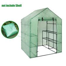 Greenhouse Cover Portable Plastic Garden Shelf Outdoor Garden Structures Supply