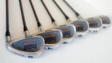 Set Of Wilson Prostaff Tour Irons 4-9 + S P Wedges - Graphite Shafts  RH