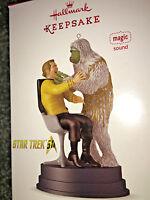 HALLMARK Keepsake 2016 THE MAN TRAP Star Trek CHRISTMAS ORNAMENT Magic Sound NEW