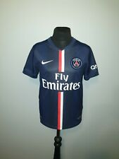 Boys Nike Dri-Fit Paris Saint Germain Home Football Shirt Age 8-10 Years