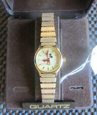 Disney Watch Gold Quartz Mickey New