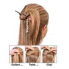 Fashion TWIST N CLIP For Your Hair 4 Clips + Bonus Women Hair Accessories HOT Y
