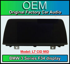 BMW 3 Series Gran Turismo display screen, BMW F34, L7 CID MID, Multi function