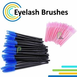 10-103pcs Eyelash Brushes Disposable Mascara Wand Lash Extension Applicator Tool