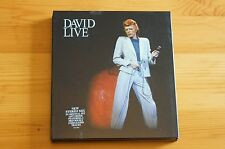 David Bowie Live EMI 2 Disc double case 20 Tracks Carded Digipack Case