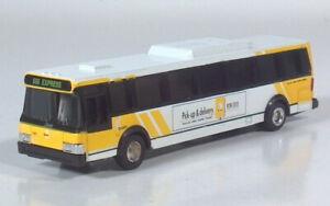 Road Champs Flxible Metro/Grumman DART Dallas Area Rapid Transit1:87Diecast Bus