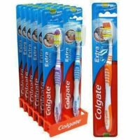 Colgate Extra Clean Toothbrushes Reach Back Teeth Tooth Brush