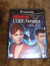 GameCube RESIDENT EVIL: CODE VERONICA GC RARE Wii A great RPG Complete game
