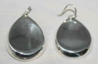 Silpada Sterling Silver Earrings Pear Shaped Teardrop W2064 New RARE  HTF