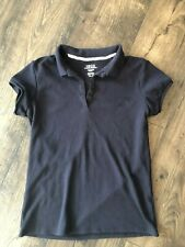 Izod Girls Polo School Uniform Navy Size Large 14/16