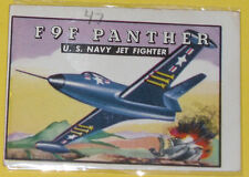F9F Panther U.S. Navy Jet Fighter #100 Trading Card See!