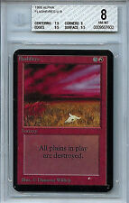 MTG Alpha Flashfires BGS 8.0 (8) NM-MT Card Magic the Gathering WOTC 7602