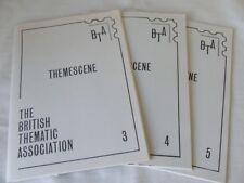 Themescene - Magazine Of The British Thematic Association No's 3-5 1985