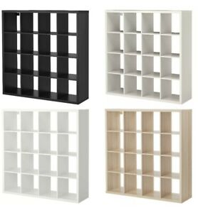 New IKEA KALLAX 4x4 Shelving Unit 16 Square Cubes Bookcase Storage -Express Post