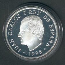 """Spanien 1000 Pesetas 1995 """"Olympia -Sprinter"""" 13,5g 925er Silber, PP (10246)"""