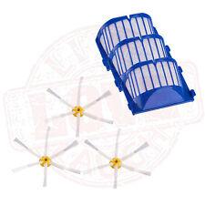 6pcs Aerovac Brush Filter for iRobot Roomba 500 600 536 550 595 620 630 650 564
