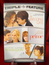 DVD - Triple Feature - The Wedding Date / Prime / Wimbledon (2007)