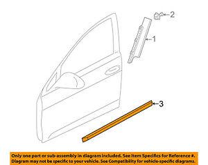 VW VOLKSWAGEN OEM 17-18 Golf SportWagen Front Door-Trim Right 5G9854940A9B9