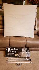 Larson Soff Box X-Less Sofb Xl 42C - Softbox Black / Silver Fabric