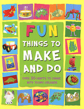 Fun Things to Make and Do kids craft ideas paint glue collage model foam holiday